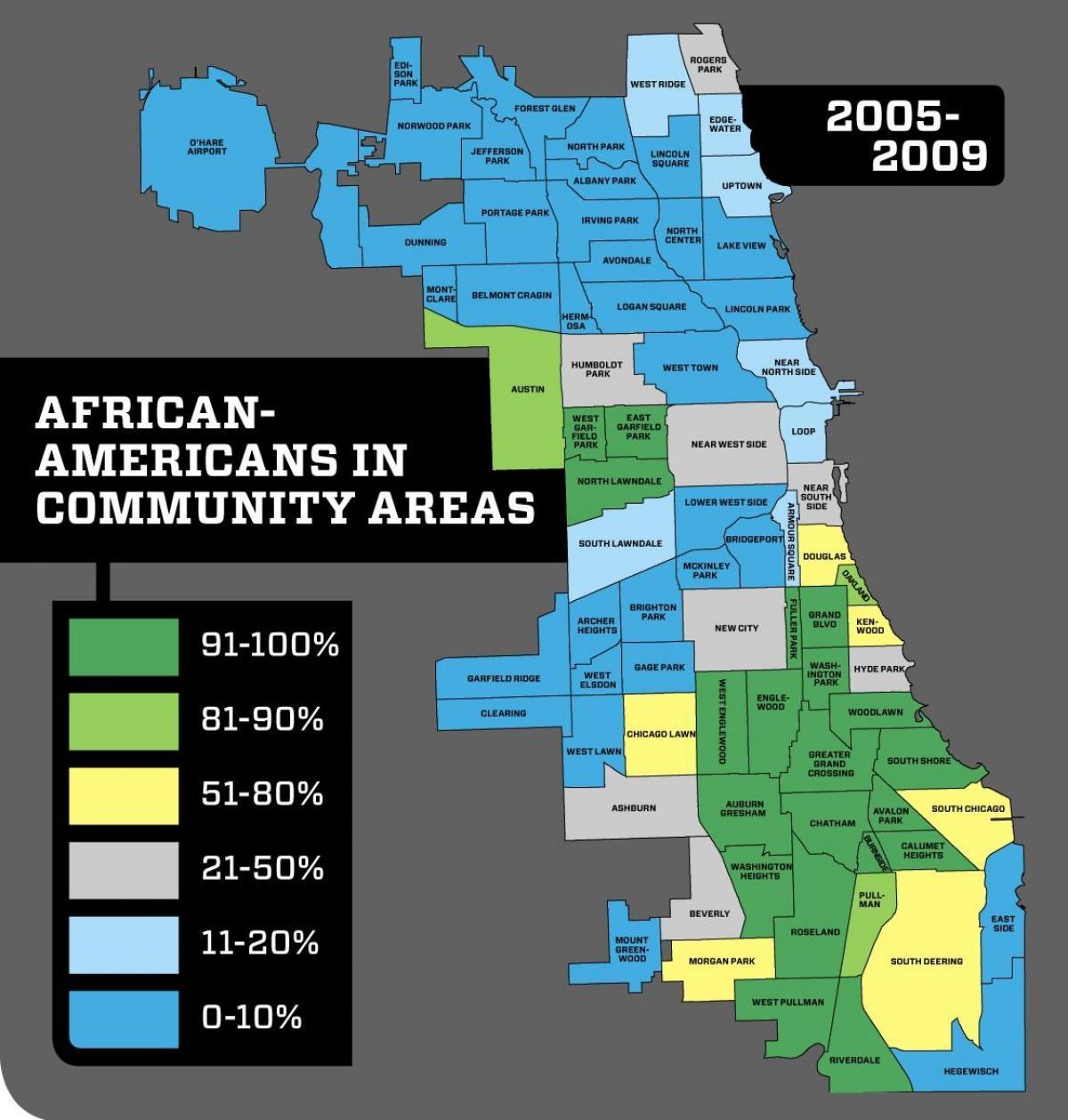 Chicago crime map von Nachbarschaft - Chicago neighborhood crime map on