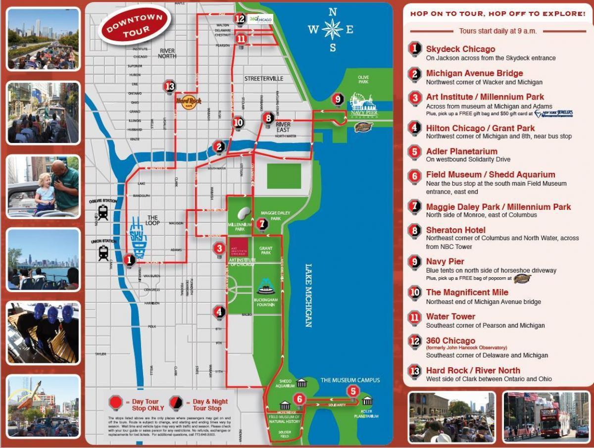 Hop-on-hop-off-Chicago anzeigen - Hop-on-hop-off Chicago tour ... on