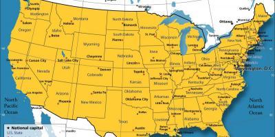 Chicago Map Maps Chicago Vereinigte Staaten Von Amerika